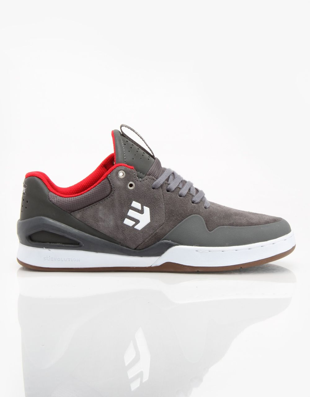 955902c458 Etnies Marana Elite (Ryan Sheckler) Skate Shoes - Grey Red White -  RouteOne.co.uk