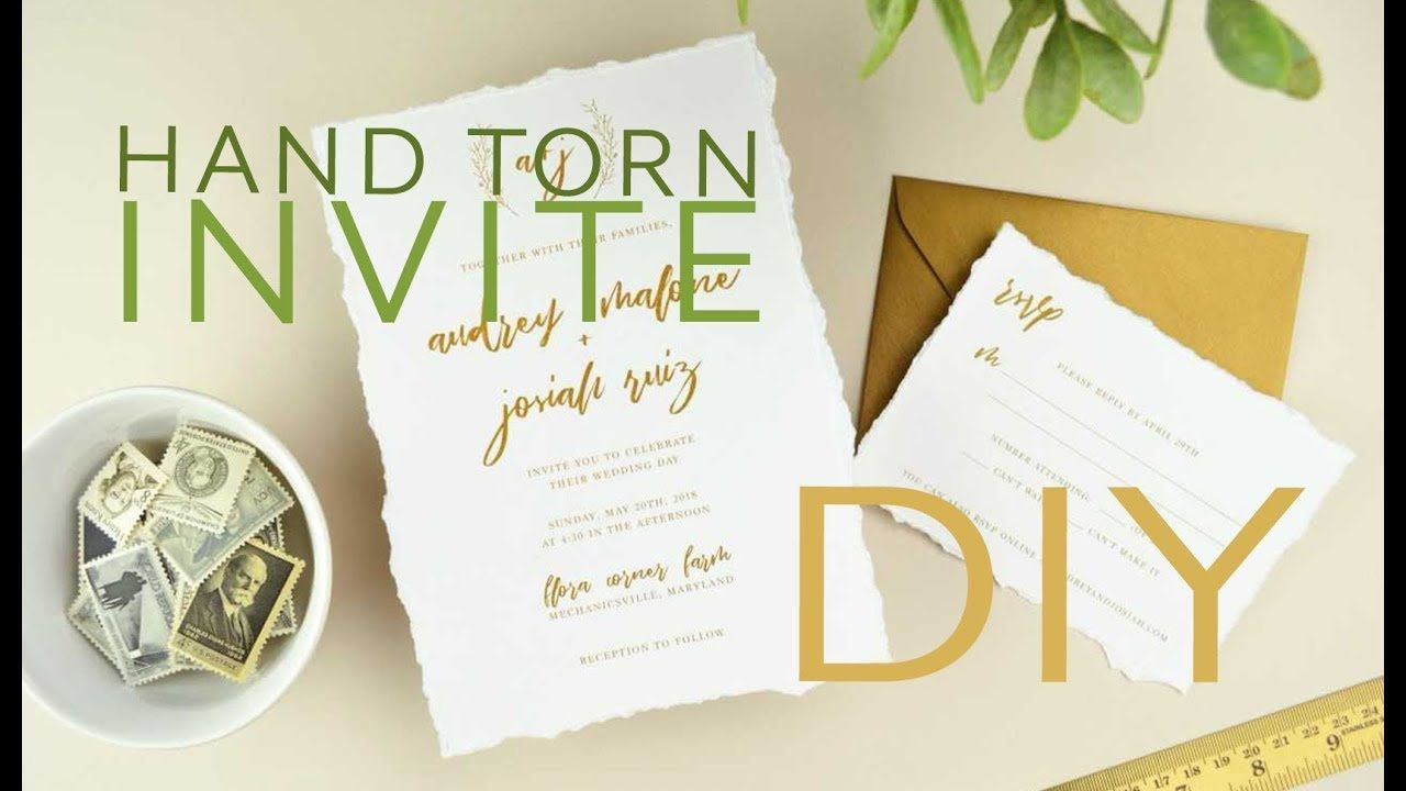 Wedding Invitation Paper Invitations