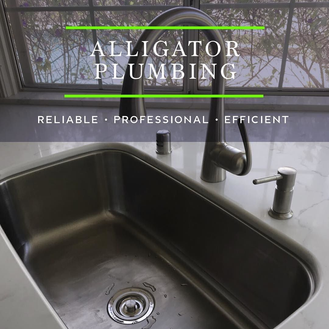 Looking to replace your kitchen sink and faucet? Alligator Plumbing ...