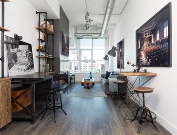 Find Industrial Design Ideas And Industrial Decor Online Industrial Home Offices Loft Spaces House Interior
