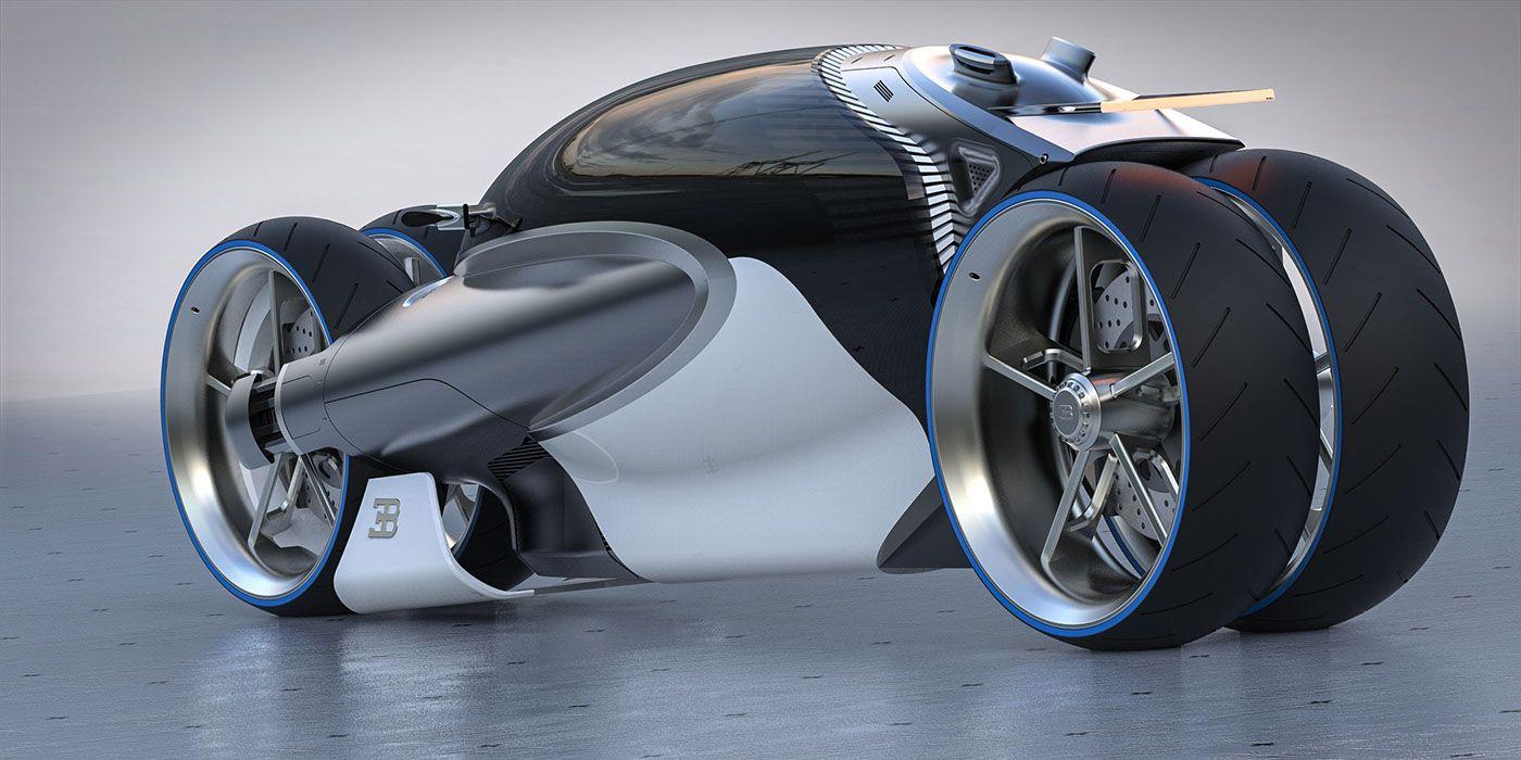 Bugatti Type 100m Bike Concept Bikez Pinterest Bike