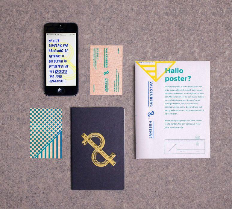 Valkenberg & Janssen Poster and Business Cards // SUPER FUN ...