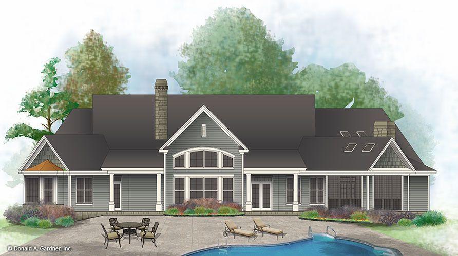 Sylvan House Plan House Plans House Craftsman House Plan