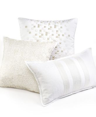 Hotel Collection Frame White Decorative Pillow Collection Macys
