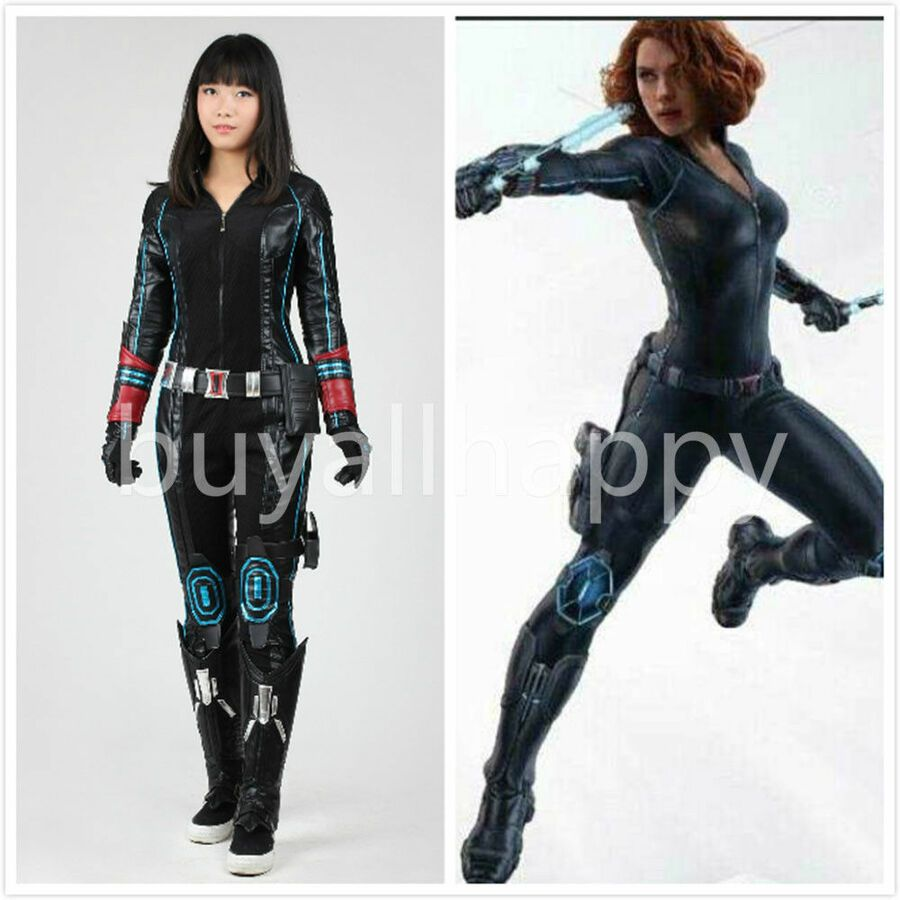 Avengers Age Of Ultron Black Widow Natasha Romanoff Cosplay