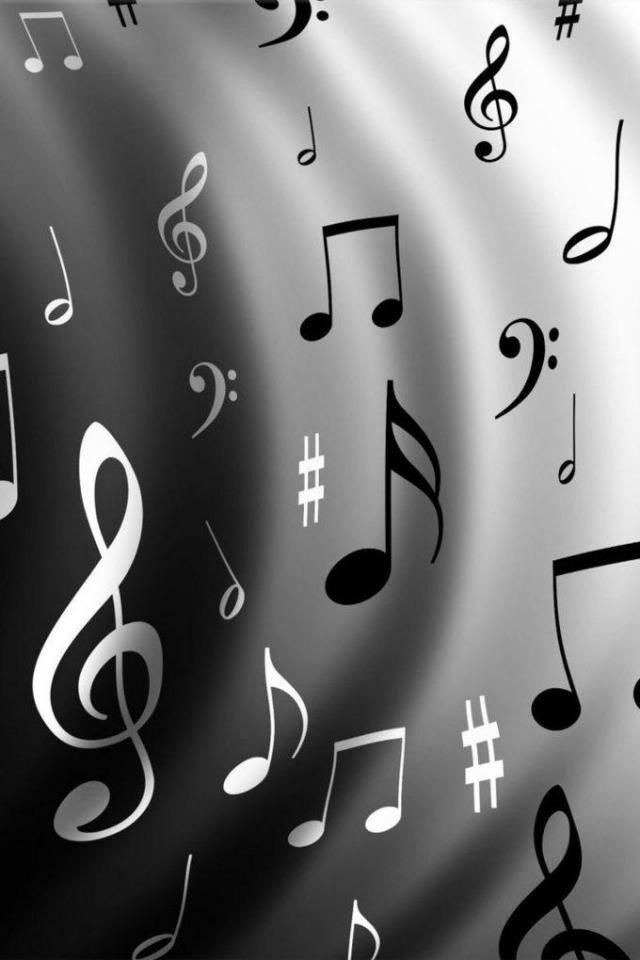 Music Notes IPhone Wallpaper