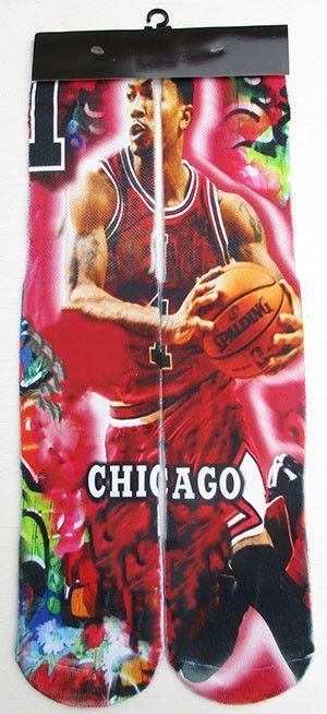 Michael JD/LB James/KB Bryant/Kevin Durant/ROSE/Anthony/Paul/GREFFIN 3D printed odd future socks with brand tag basketball socks