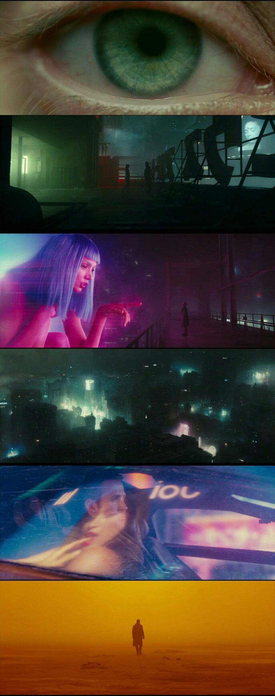 Blade Runner Futuristic Colour Palette I Like These - These colour palettes inspired by famous movie scenes are beautiful