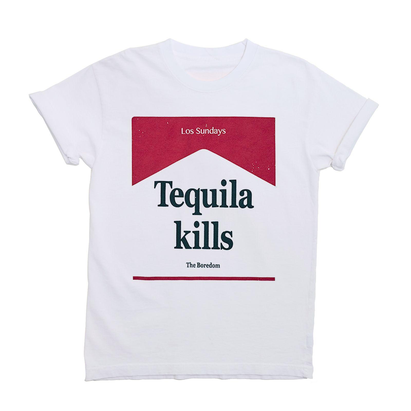 95cc36c1fa3b TEQUILA KILLS TEE | 2018 S/S | Shirts, T shirt, Tee shirts