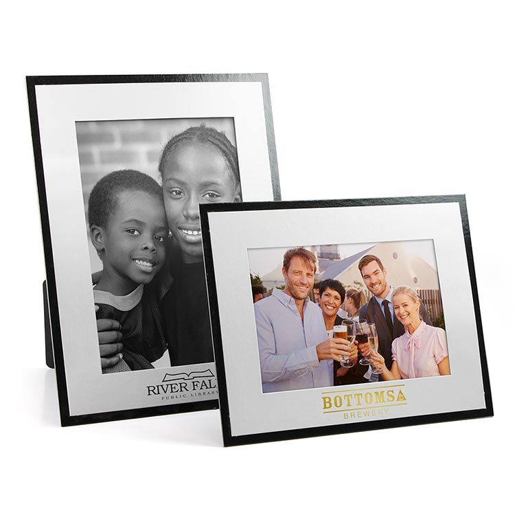 White On Black Photo Frame 4 X 6 5 X 7 Frames Hand Out
