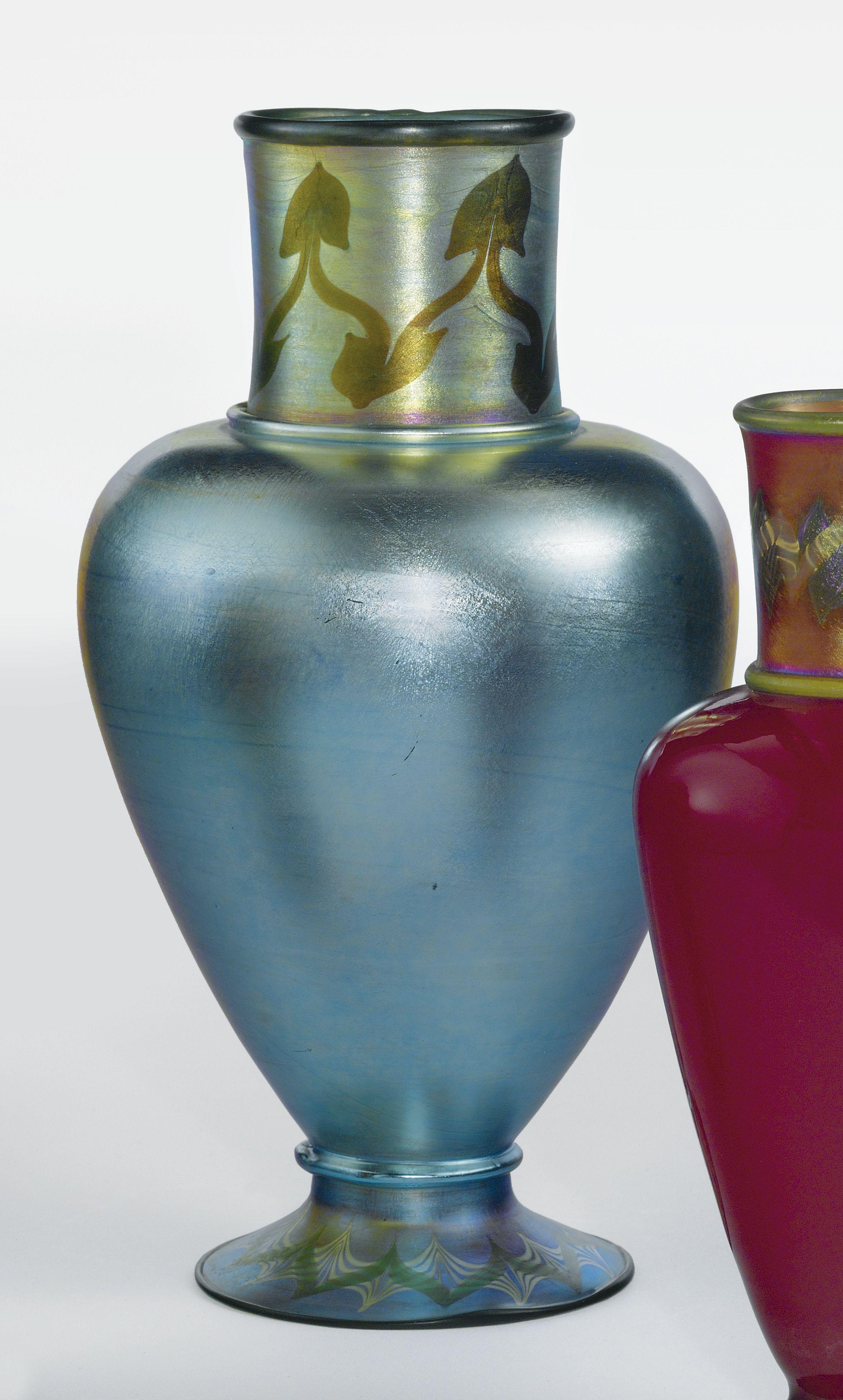 "Tiffany Studios I ""Tel-El-Amarna"" Vase I Engraved L.C. Tiffany I Favrile glass I ca. 1911-1912"
