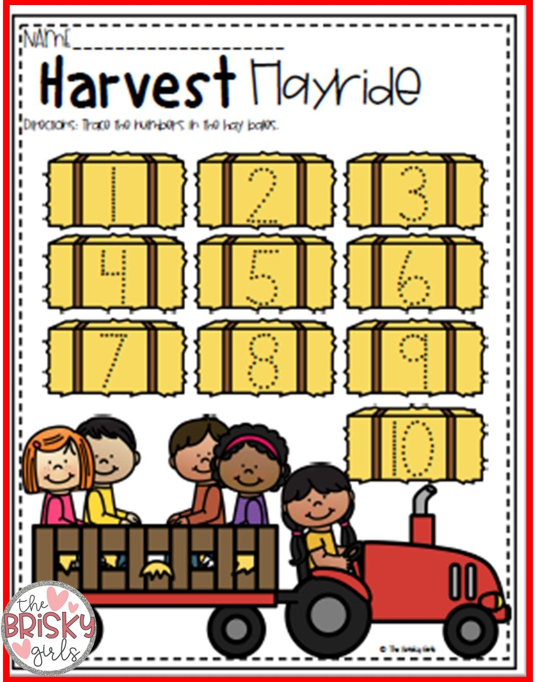 Fall Activities Fall Math And Literacy Packet