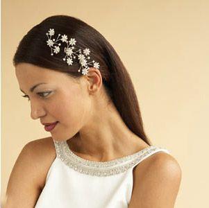 hairdo | Hair Styles | Pinterest | Wedding hair jewelry, Hair ...