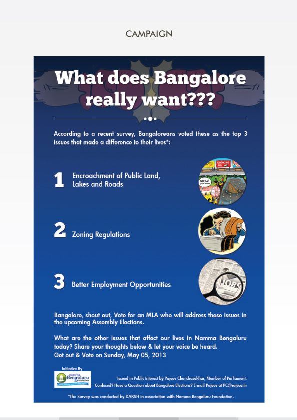 What does Bangalore really want?