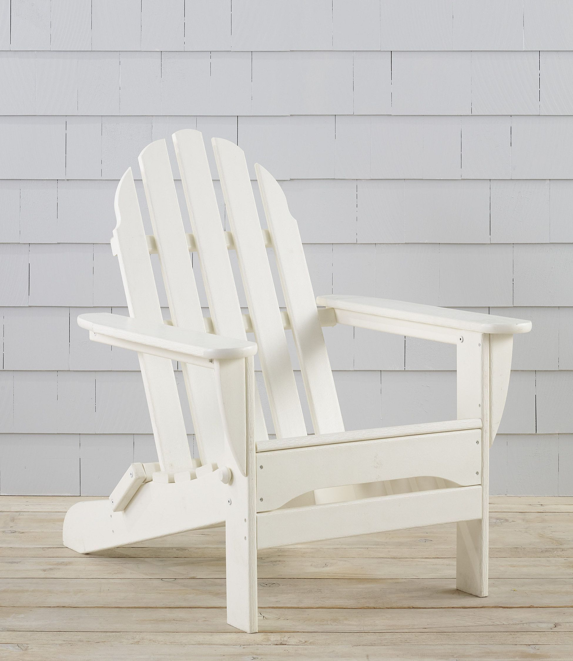 All Weather Adirondack Chair Rustic Outdoor Furniture Weathered