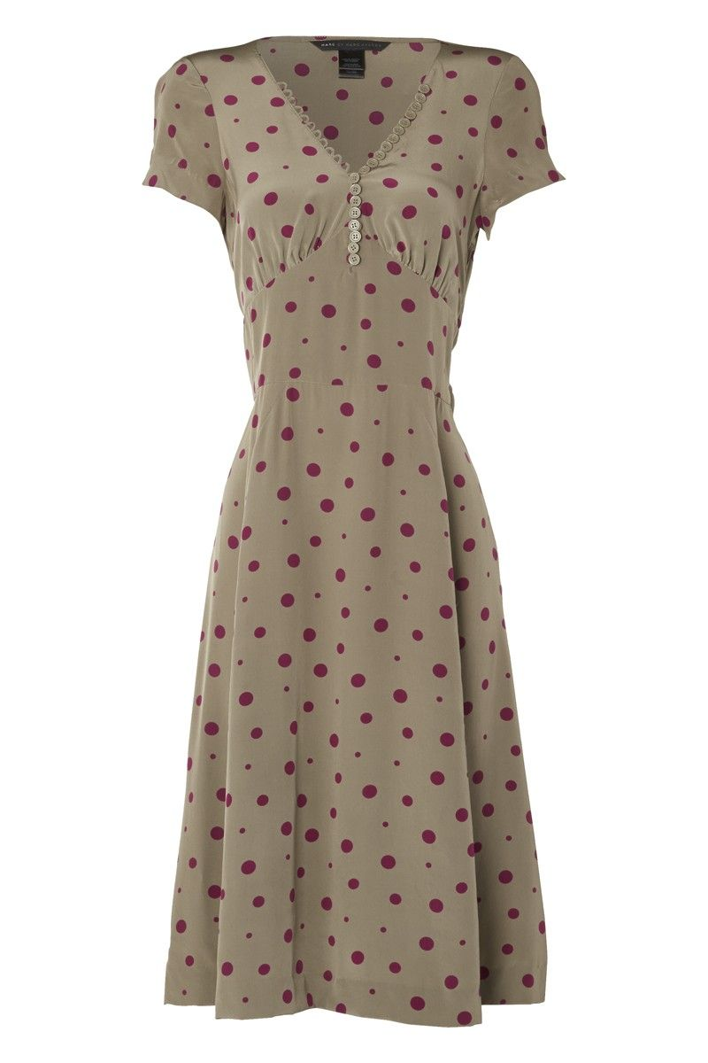 Very, very nice. Marc by Marc Jacobs Silk Polka Dot Dress