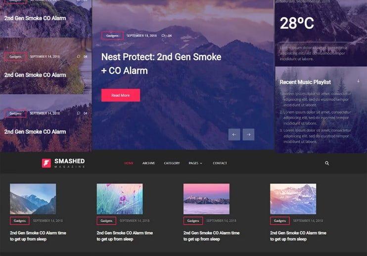 42 Best Free News Website Templates Website Template News Website Design Website Design