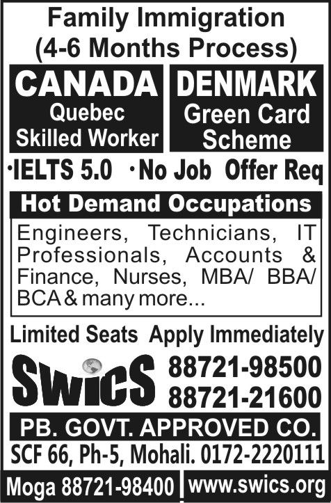GET READY FOR FAMILY IMMIGRATION - CANADA Quebec Skilled Worker - job offer