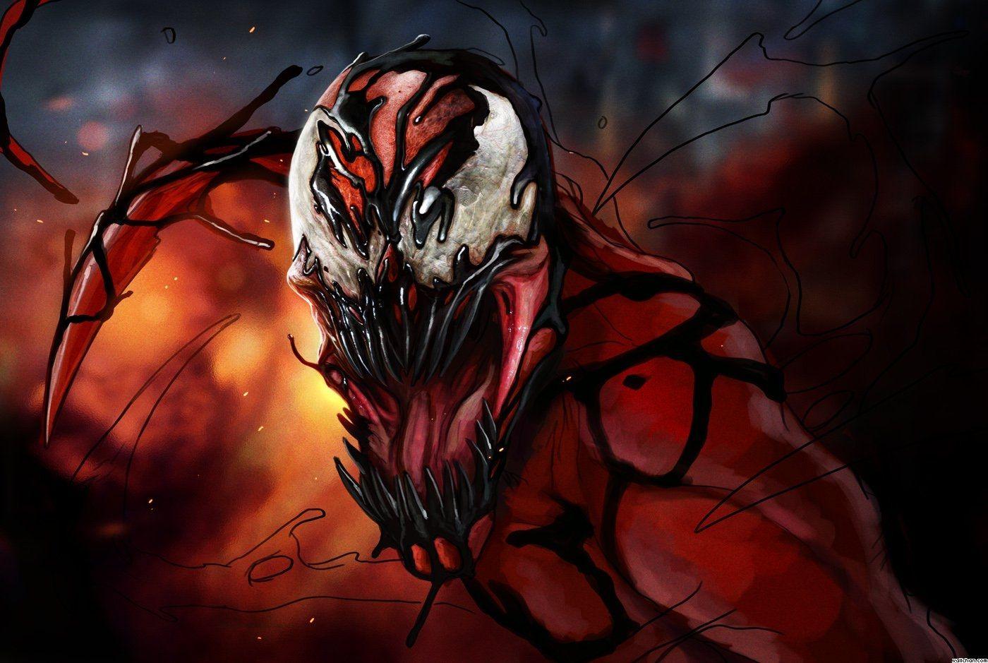 Spiderman Venom Wallpaper Anime Wallpapers Pinterest