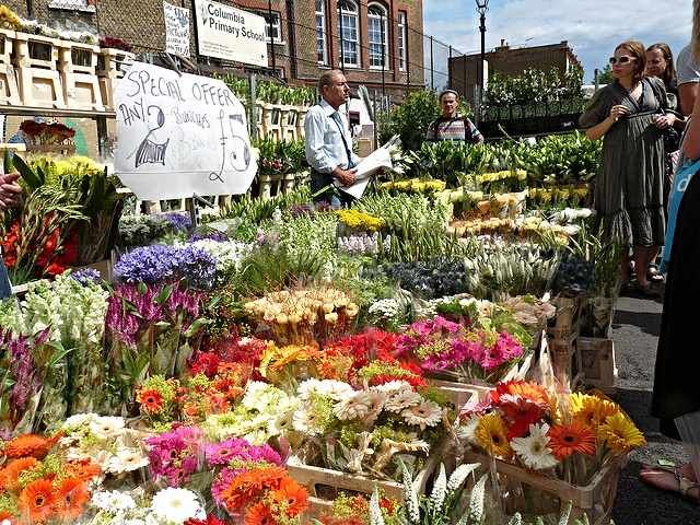 The Top Alternative Things To See And Do In East London Columbia Road Flower Market London Market Flower Market