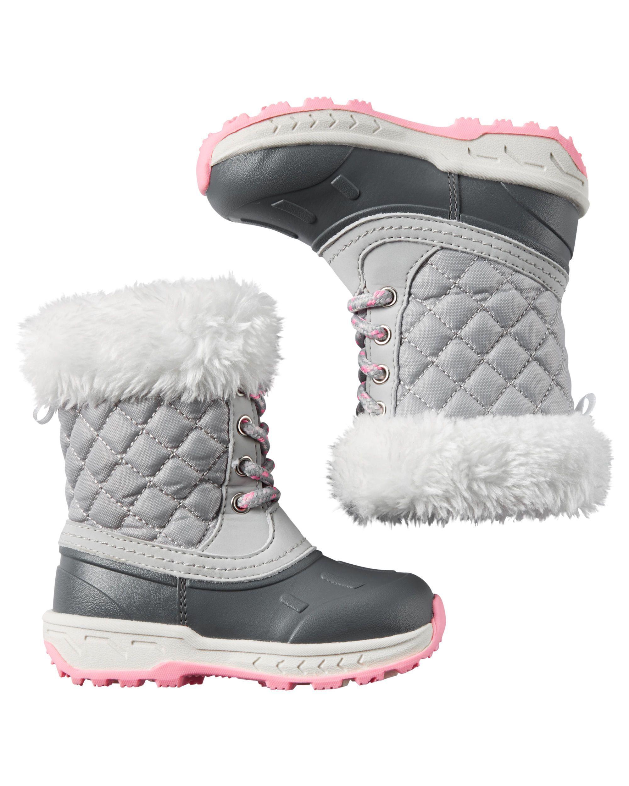 Baby stylish girl boots rare photo