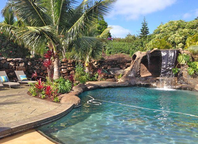 Grotto Pool In Upcountry Maui Hawaii Pool Maui Makawao Maui