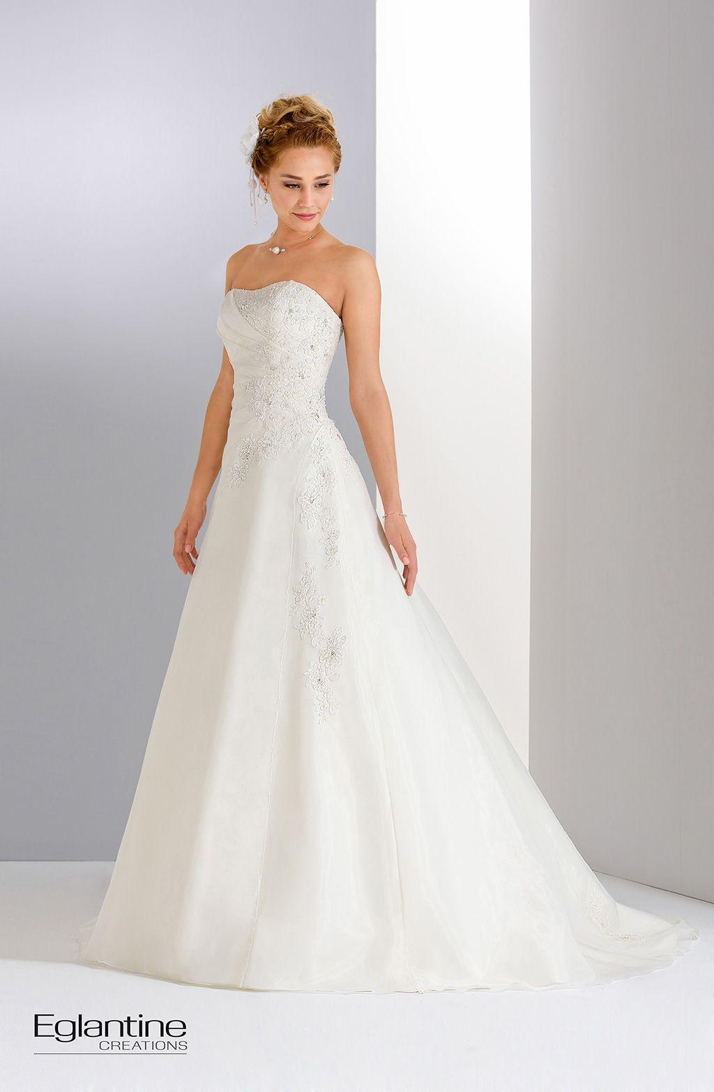 Robes de mariées Eglantine Créations - Boutique