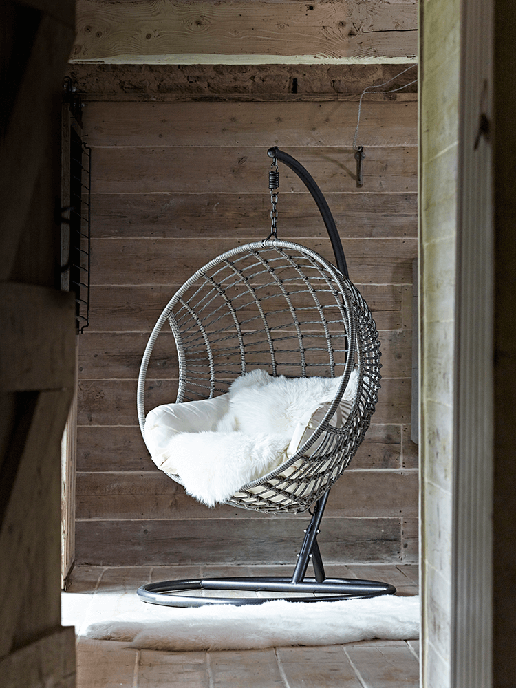 Indoor Outdoor Hanging Chair Housekeeping Pinterest