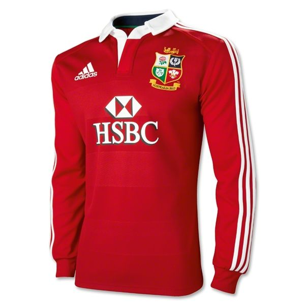 abe91073 British and Irish Lions 2013 LS Rugby Jersey | Saturday's a rugby ...