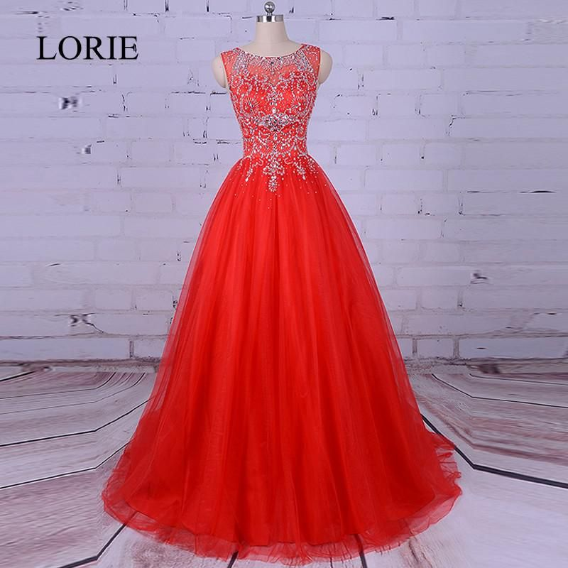 411addf61a29e Red Quinceanera Dresses 2018 Vestidos de 15 anos Puffy Tulle Sweet ...
