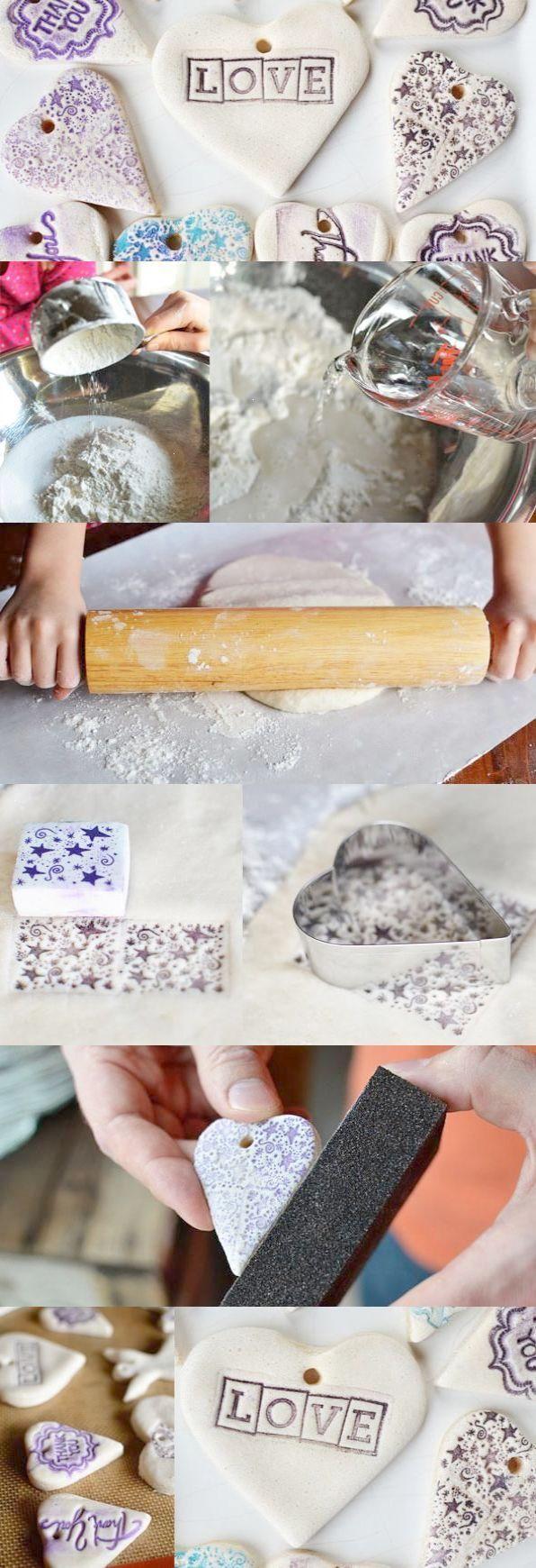DIY Wedding Favors: Salt Dough Tags | favors | Pinterest | Favors ...