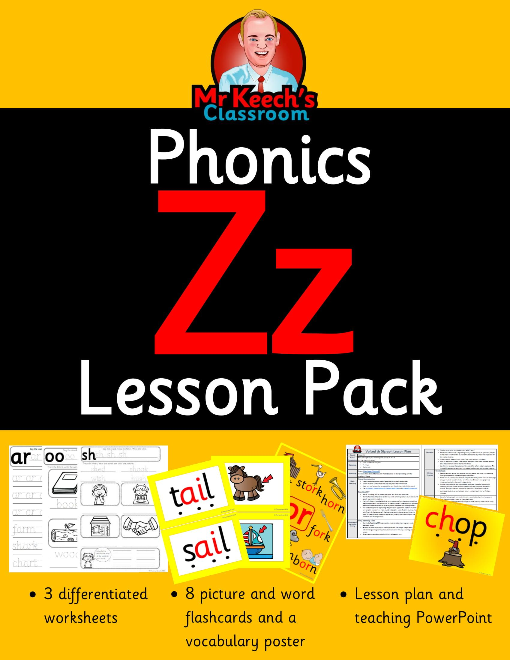 Jolly Phonics Letter Z Worksheet Kindergarten