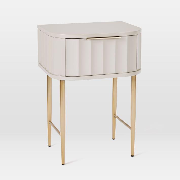 Vivien Nightstand Living Room Designs Oversized Furniture