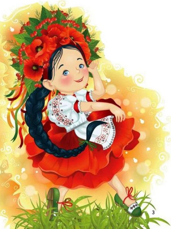 Україночка | Детские картинки, Рисунки
