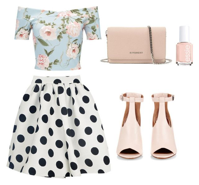 """""""Cut """" by leatitiakhalid on Polyvore featuring mode, Miss Selfridge, Givenchy et Essie"""