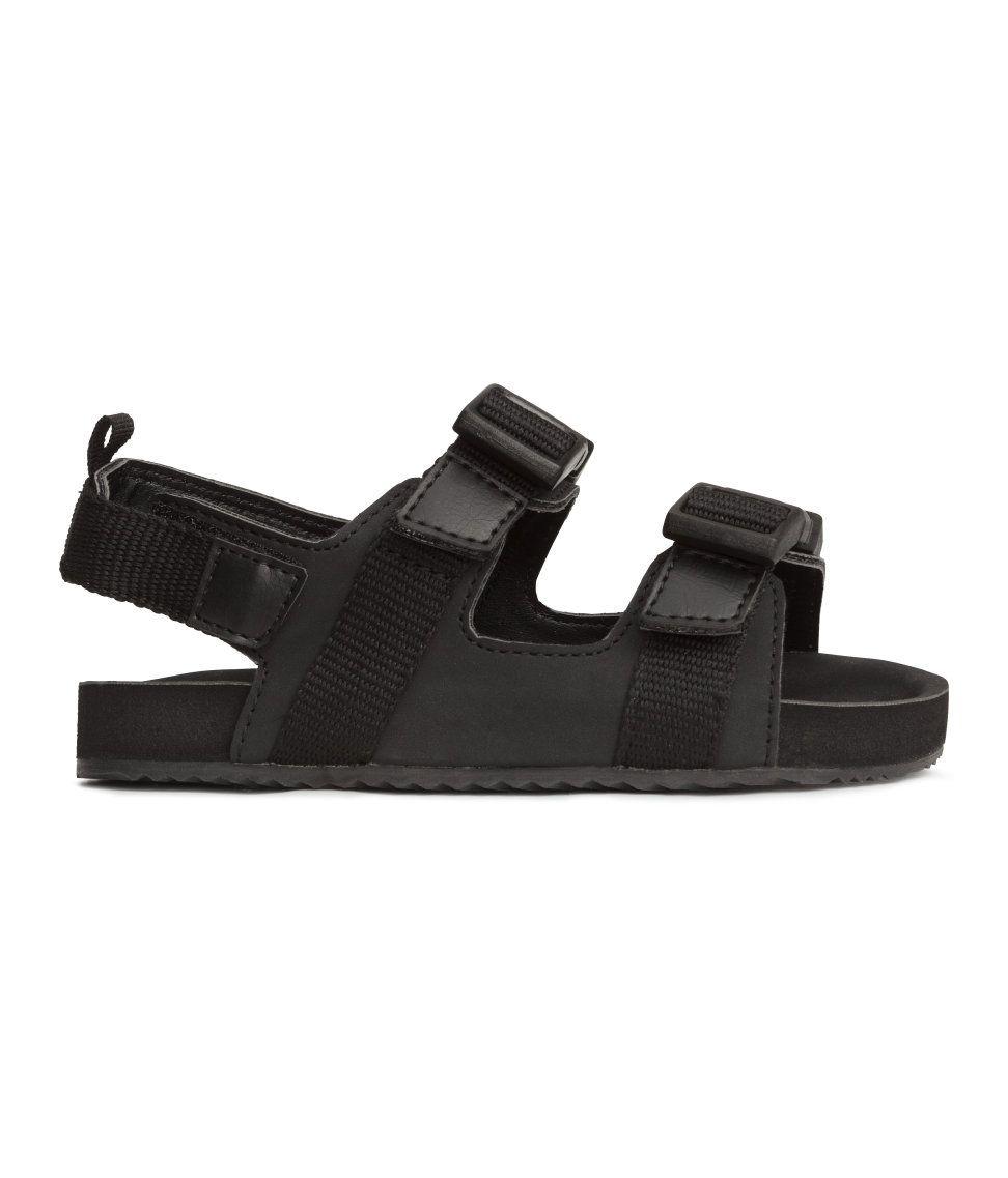2aeb8e9fe90d Black Sandals