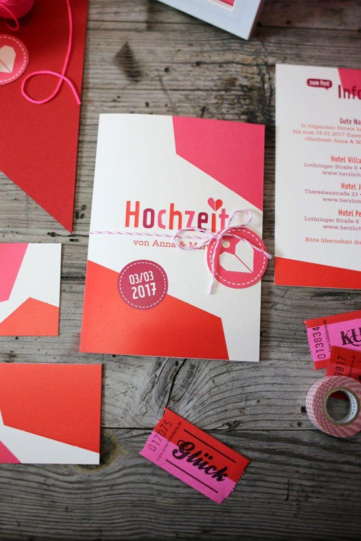 Herzlichst Hochzeitspapeterie Einladung | Hochzeit | Pinterest ...