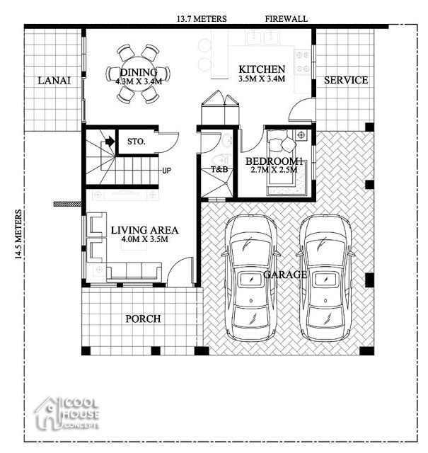 Home Design Plan 7x15m With 5 Bedrooms House Plan Map Luxury House Plans Modern House Plans Home Design Plan