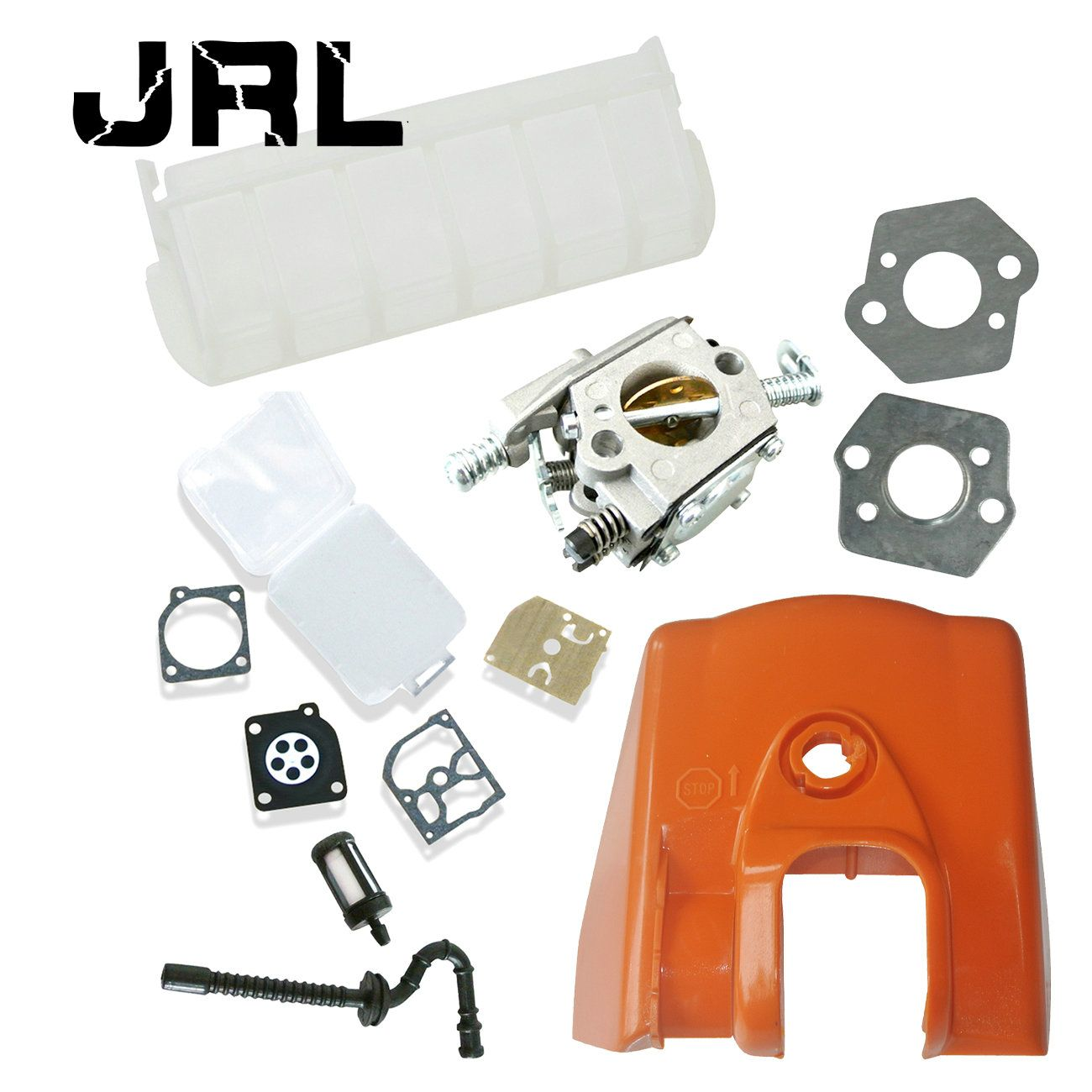 Carburetor For STIHL Chainsaw MS250 With Fuel Line & Fuel Filter & Repair  Kit
