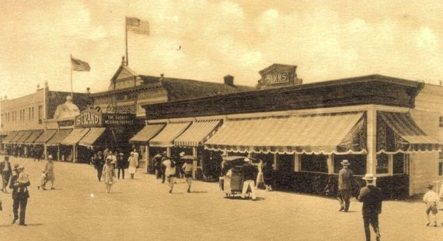 An Old Image Showing Awnings In Use In New Jersey Usa Awnings