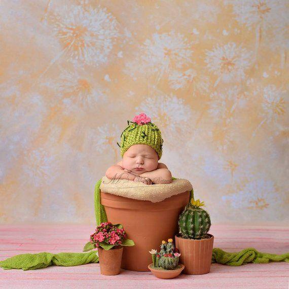 Crochet Cactus Hat  87ed6965c9bd