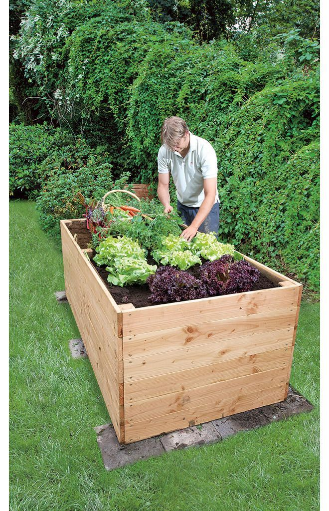 Hochbeet Bauen Erhohtegartenbeete Garden Projects Diy Garden Projects Herb Garden Pallet