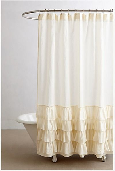 Roundup 15 Statement Shower Curtains That You Can Diy Ruffle Shower Curtains Curtains Fabric Shower Curtains