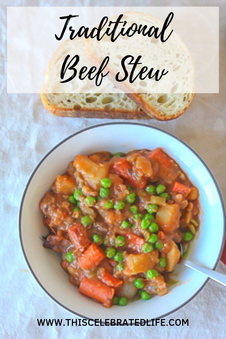Traditional Beef Stew (With images) | Traditional beef ...