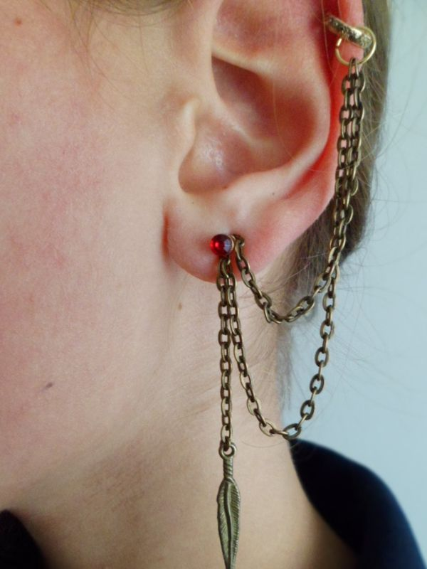 How To Make A Cuff Earring D I Y Step 5