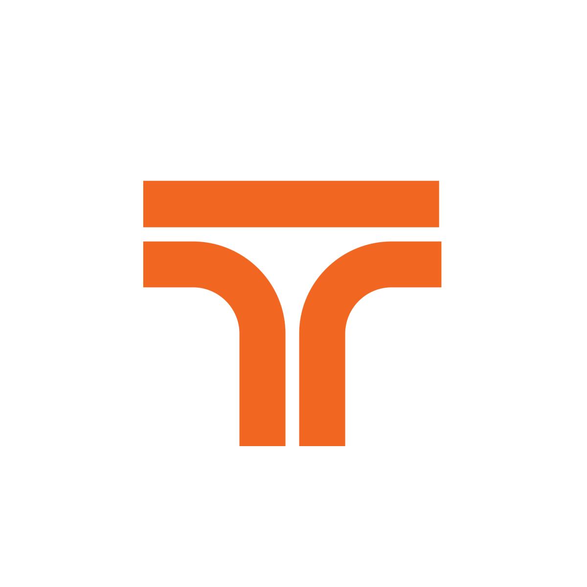 Tepeyac Logo Mexico Letter Logo Letter T Single Letter Logo