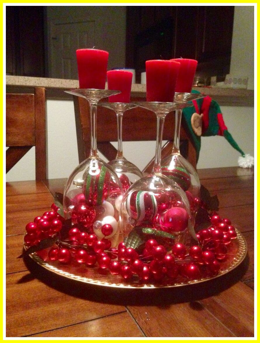103 Reference Of Christmas Table Decorations Easy In 2020 Elegant Christmas Centerpieces Christmas Table Decorations Christmas Centerpieces