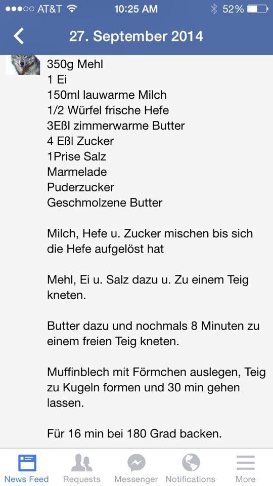 Kleine Krapfen Im Oven Von Fb Deutsche Kueche Amerikanische