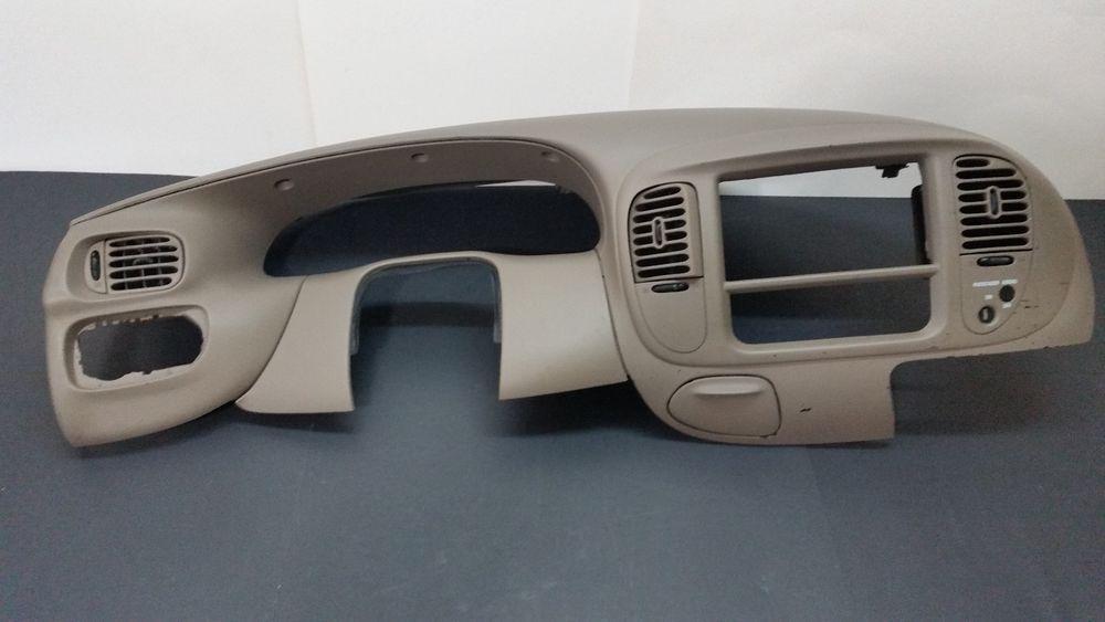 1999 2003 f 150 light duty f 250 4x2 dash vent trim radio bezel 1999 F150 Heater Core Replacement 1999 2003 f 150 light duty f 250 4x2 dash vent trim radio bezel tan (a363) fordoem