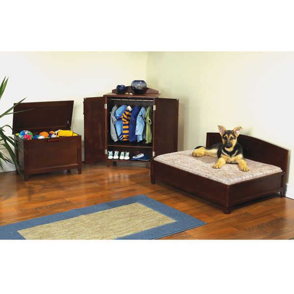 Pet Studio Sonoma Mahogany Furniture Pet Bedroom Collection (he May Be  Spoiled, But Heu0027s Not THIS Spolied!